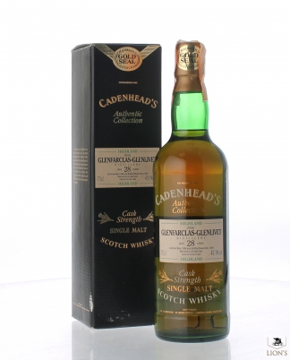Glenfarclas 1966 28 years old 49.1% Cadenhead's