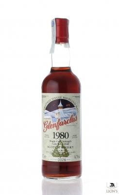 Glenfarclas 1980 cask 11048 Christmas