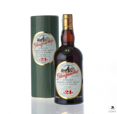 Glenfarclas 21yo 43% 700ml tube