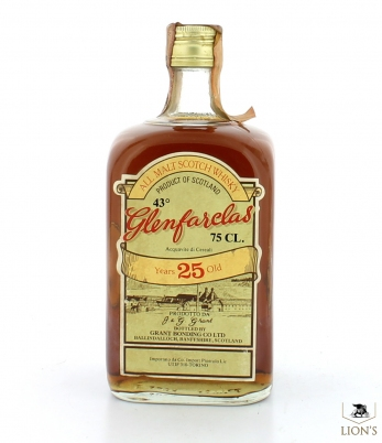 Glenfarclas 25 Years Co Import