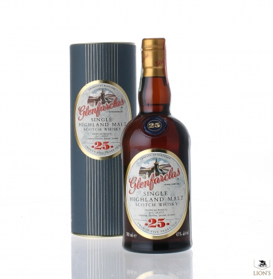 Glenfarclas 25yo 43% 700ml tube
