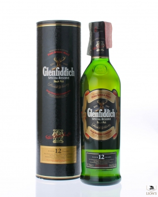 Glenfiddich 12y 40% 70 cl Black tube