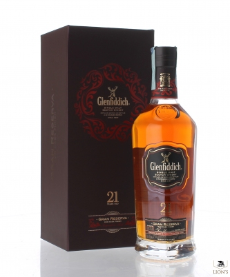 Glenfiddich Gran Reserva 21years old cask 39
