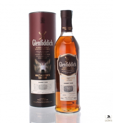 Glenfiddich Malt Master's Edition Sherry Cask 43% 70cl tubo
