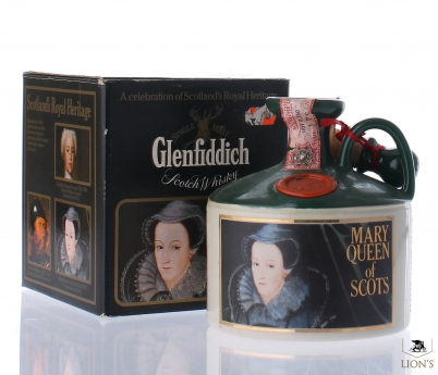 Glenfiddich Mary Queen of Scots Ceramic