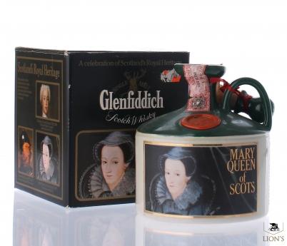 Glenfiddich Mary Queen of Scots Ceramic