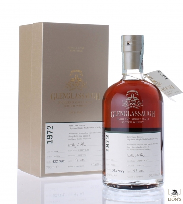 Glenglassaugh 1972 41 years old 50.6% cask 2114