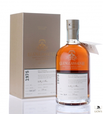 Glenglassaugh 1975 38 years old 42.4% cask 7801