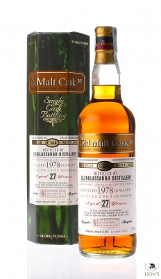 Glenglassaugh 1978 27 years old DL OMC