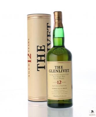 Glenlivet 12yo 40% 1 litre tube