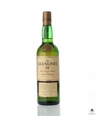 Glenlivet 12yo 40% 70 cl