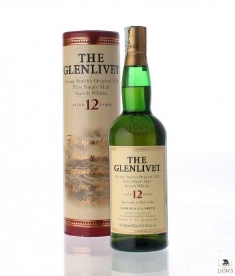 Glenlivet 12 years old