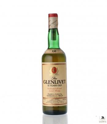 Glenlivet 12yo 43% 75cl OB