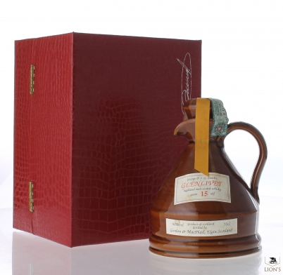 Glenlivet 15 years old Decanter G&M
