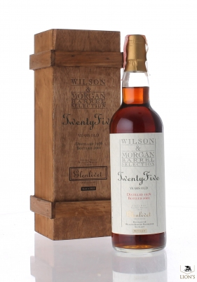Glenlivet 1976 25 years old Wilson & Morgan