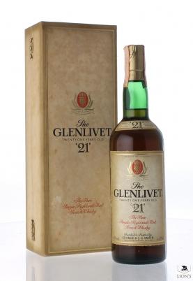 Glenlivet 21yo