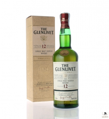 Glenlivet First Fill 12yo 1 litre
