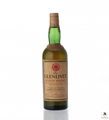 Glenlivet The Only Genuine 12 years old
