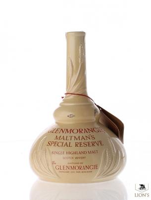 Glenmorangie 18yo Maltman's special reserve ceramic decanter