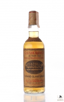 Glenmorangie Grand Slam Dram 17 March 1990 10 Years Old