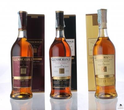 Glenmorangie Mix - La Santa, Quinta Ruban, Nectar D'or - 46%