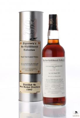 Glenrothes 1987 15 Years Old Signatory