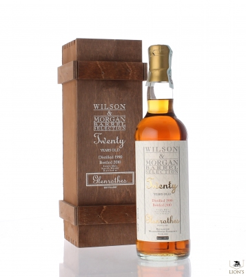 Glenrothes 1990 B2010 wood box 46% W&M