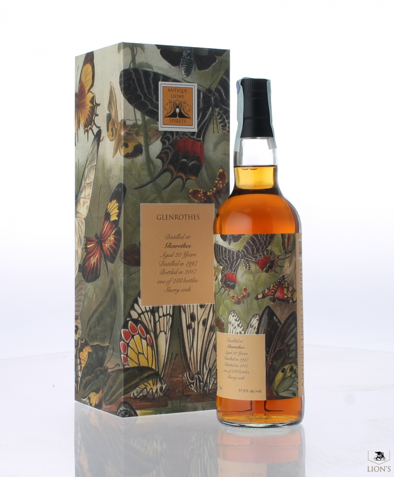Glenrothes 1997 57% Antique Lions of Whisky one of the best