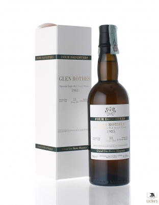 Glenrothes 1985 31 years old cask 7984 Signatory