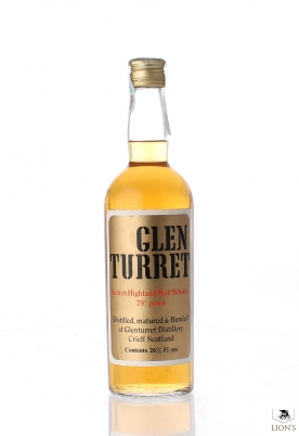 Glenturret 75 Proof Gold Label Short Cap