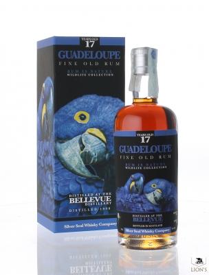 Guadaloupe Bellevue Rum 1998 17yo 50% Silver Seal