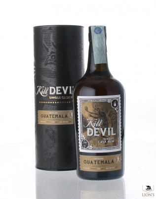 Guatemala Darsa rum 2007 8 years old