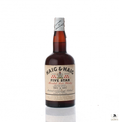 HAIG & HAIG FIve Star Tin Cap