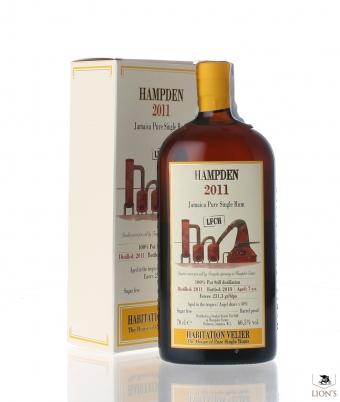 Rum Hampden LFCH 2011 60.5% Velier