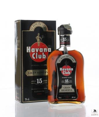 Rum Havana Club 15yo Ron de Cuba