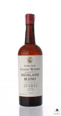 Highland Blend Averys 65 Proof Red Capsule