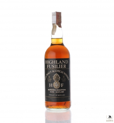 Highland Fusilier 8 Years Old