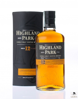 Highland Park 12yo 40% 70 cl orange twellve