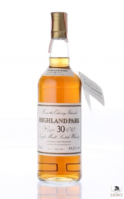 Highland Park 1955 30 years old 53.2% Intertrade