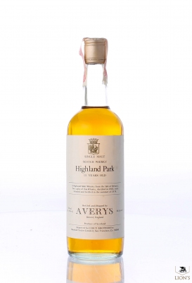 Highland Park 1963 15 years old Averys for Corti