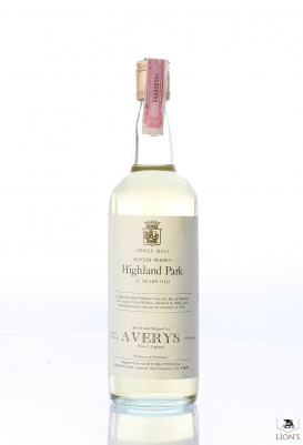 Highland Park 1966 12 years old Averys for Corti