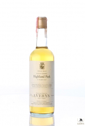 Highland Park 1970 8 years old Averys for Corti
