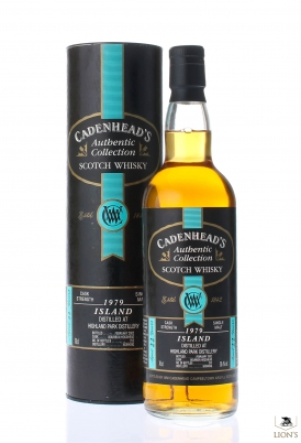 Highland Park 1979 22 years old cadenhead's