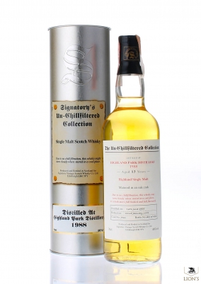 Highland Park 1988 13 years old Signatory