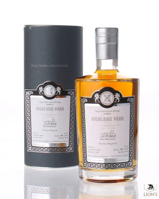Highland Park 1996 56.8% selected for Whisky&co