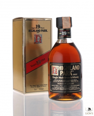 Highland Park 19yo with box