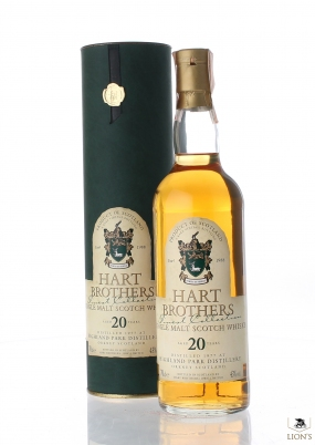 Highland Park 1977 20 years old Hart Brothers