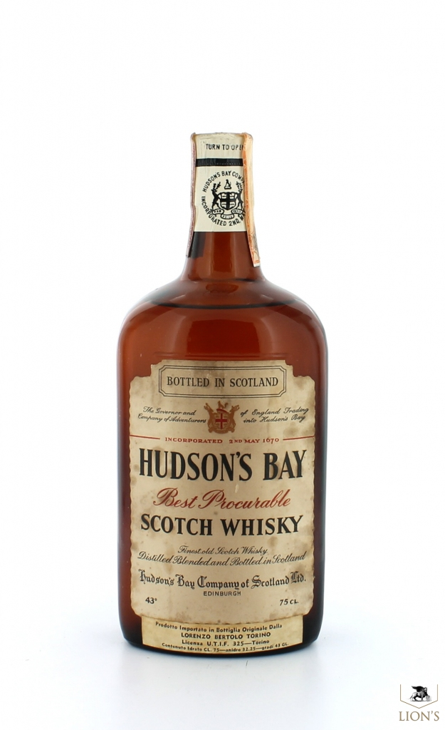 Hudson s bay one of the best types of scotch whisky