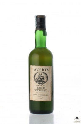Irish Whiskey 7 Years Old Averys Pure Pot Still