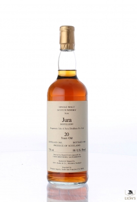 Isle of Jura 1966 20 years old Duthie for Corti